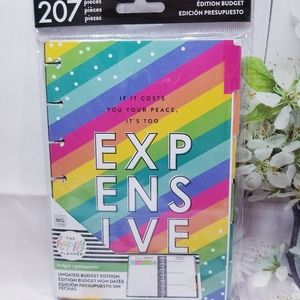 Mini Size Budget Extension Pack The Happy Planner